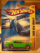 Hot Wheels Dodge Challenger SRT8 2008 New models Green