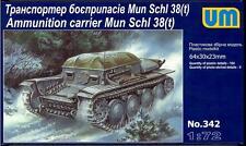 UM-MT Models 1/72 German MUN SCHL 38(t) AMMUNITION CARRIER