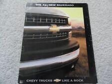 1999 Chevy Silverado Sales Brochure