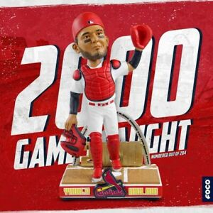 Yadier Molina St Louis Cardinals 2000th Start Bobblehead Yadi PRESALE