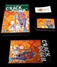 CRACK DOWN Sega MEGADRIVE Mega Drive Genesis Japones COMPLETO Goog Condition