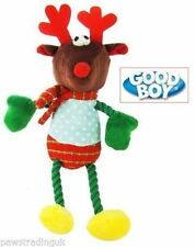 1 x TOY Hug Tugz Reindeer Plush Christmas Dog Toy Bright Xmas puppy gift Pup