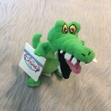 NWT Disney Store Peter Pan Tick Tock Crock Plush Bean Bag Toy