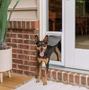 PetSafe Sliding Glass Pet Door (Small) -No Cutting-DIY Installation - PPA1114766