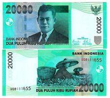 L'Indonesia Indonesia 20000 20.000 rupia 2009 (2004) UNC P 144 F