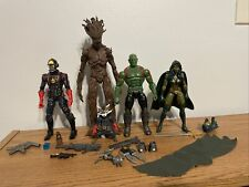 Hasbro Marvel Legends Guardians Of The Galaxy Box Set 5 Figure Lot