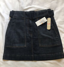 BNWT GB Denim Belted Mini Skirt Small