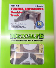 METCALFE CARD KIT N PN142 TUNNEL ENTRANCE DOUBLE TRACK METPN142