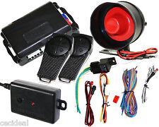 1-Way Premium Car Auto Vehicle Alarm Protection Keyless Security System 2 Remote