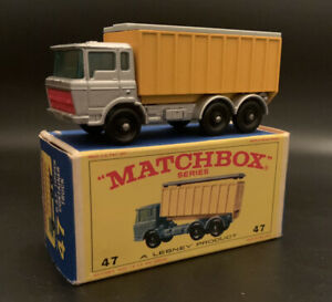 Matchbox DAF Tipper Container Truck With E 4 Box New