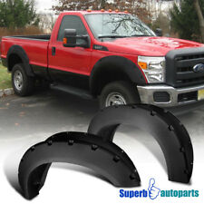 Fender Flares 2011-2016 F250 F350 Superduty Tough Finish Pocket Rivet Style 4PC