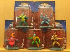 Masters Of The Universe Micro Collection lot of 5 full set 2020 Mattel He-man