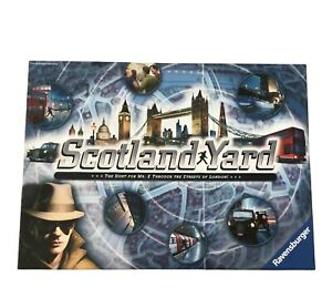 Scotland Yard The Hunt for Mr X Board Game Ravensburger - Used, Complete VGC