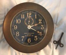 Mark 1-Deck Clock, U.S. Navy, N 11167, 1941. Made by Seth Thomas in U.S.A.