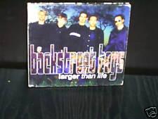 BACKSTREET BOYS LARGER THAN LIFE - RARE AUSTRALIAN DIGIPAK CD