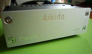 Aikido Phono 1 + Einstellbar,FET Phono Vorverstärker / Riaa für MM Tonabnehmer