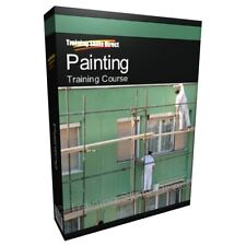 Learn Painting Painter Buildings Scaffolds Training Course Manual Guide