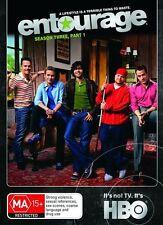 ENTOURAGE : SEASON 3 Part 1 : DVD Region 4 Australia Brand New Sealed