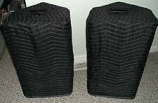 YAMAHA DSR 112 DSR112 Premium Padded Black Speaker COVERS (2)  Qty of 1=1 Pair!