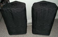 YAMAHA DSR 112 DSR112 Premium Padded Black Speaker COVERS (2)  Qty of 1=1 Pair!