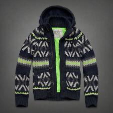 NWT Abercrombie Mens Giant Mountain Sweater Sz S Retail $250