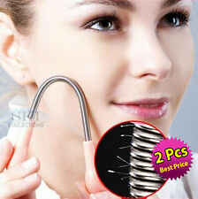 2 PCS Facial Hair Removal Spring,Epicare Epilator Epistick Remover Tweezer Stick