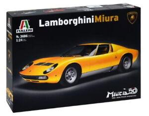 Italeri Models 1/24 Lamborghini Miura