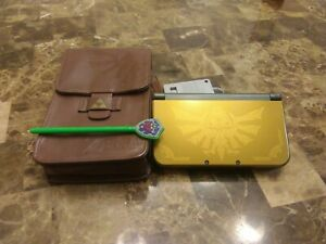 3DS XL Legend of Zelda: Hyrule Edition With Case Duel IPS Screens 80+ Games