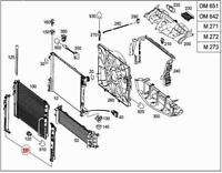 Genuine Mercedes Mounting Frame A207 C207 C218 S212 W212 X218 0995050041