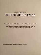 WHITE CHRISTMAS - Play Script for Starge Version of the Film - Unbound Copy