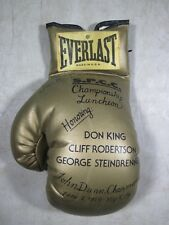Vintage 1979 Boxing Glove Honoring Don King Cliff Robertson George Steinbrenner
