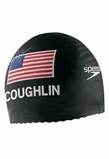 Speedo Latex Swim Cap Printed w/ Natalie Coughlin Signature RARE  New in Package