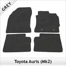 Toyota Auris Mk2 E180 2012 onwards Fully Tailored Fitted Carpet Car Mats GREY