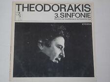 THEODORAKIS -3. Sinfonie- 2xLP auf Eterna