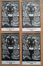 Complete Fillmore Ticket Set (4) BG134 Lee Conklin Santana Lion Grateful Dead