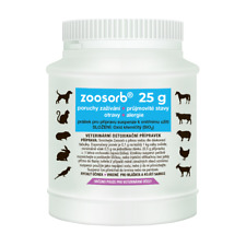 ZOOSORB 25g - to STOP DIARRHEA in dogs, cats and other animals