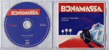 JOE BONAMASSA I Got All You Need UK 1-trk promo test CD single edit
