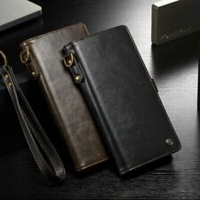 Genuine CaseMe Leather Wallet Card Case Cover For Samsung Galaxy Note 20 S10 S20