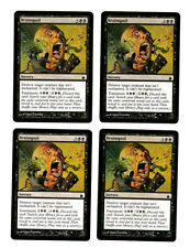 Brainspoil, NM English x 4 Ravnica mtg Low International Shipping