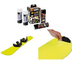 Foliatec SPRÜHFOLIE Neonspray neon gelb 4er Set - einfach wieder abziehbar!