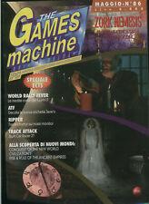 tgm 86the GAMES MACHINE zork nemesis,atf,ripper,world rally fever,civilization2
