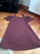 Ladies Cold Shoulder Dress Size 10 New Look