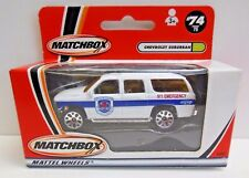 MATCHBOX CARS CHEVROLET SUBURBAN 2001 ISSUE