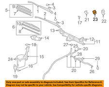 TOYOTA OEM 00-05 Echo Wiper Washer-Windshield-Washer Hose Retainer 853710E060