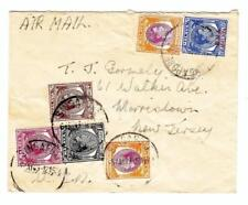 Malaya SINGAPORE-SG#7,#1,#4,#10(x2)-MIXED ISSUES-B.M.A.MALAYA-SG#