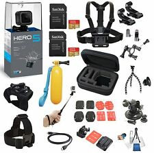 GoPro HERO5  HERO 5 Session+ 24Piece Extreme All In One Bundle *BRAND NEW*