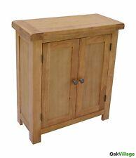 Dorset Oak Linen Cabinet / Storage Cupboard / Sideboard / Rustic Oak / Brand New