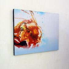 Artistic Woman Profile - Wooden Wall Art - Wall Hanging - Modern, Panel Art