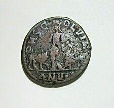 MOESIA SUPERIOR, VIMINACIUM. AE 29, PHILIP I, 244-249 AD. YEAR ANVII, 17 GRAM