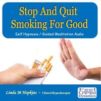 Stop Smoking CD Quit Smoking CD Self Hypnosis Guided Meditation CD